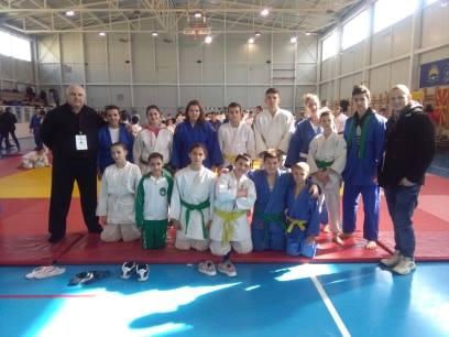 Џудо / Кавадаречките џудисти  освоија девет медали на државното првенство