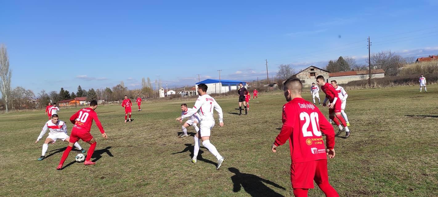 Kонтролни фудбалски средби / ТИКВЕШ - ПОБЕДА 5:2