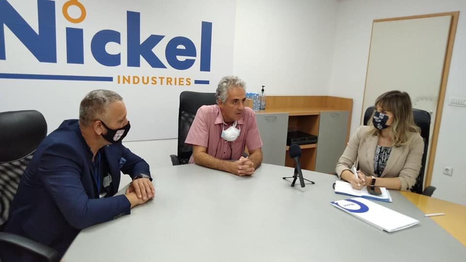 Еуроникел Индустри - спонзор на ГФК Тиквеш и ГРК Тиквеш