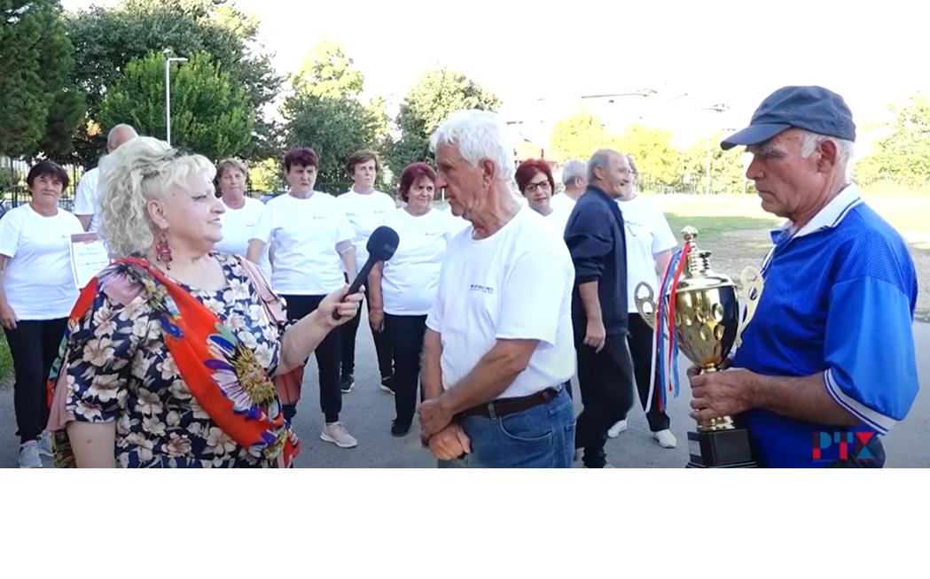 /Видео/ Кавадаречките пензионери на Регионалниот спорски натпревар го освоија првото место.